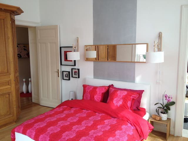 Belle grande chambre privée - Roubaix - Bed & Breakfast