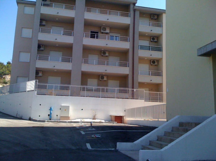 new building - built in 2009 - apartment is on the 1st floor