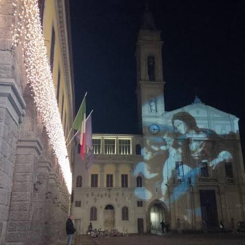 Montevarchi by night