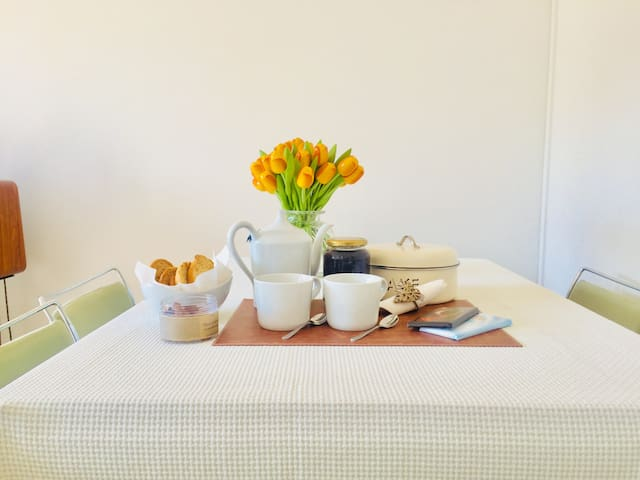 Welcome to your house in Geneva! With Breakfast!