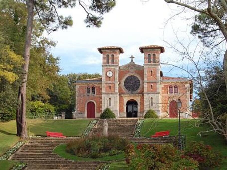 Eglise du Moulleau .