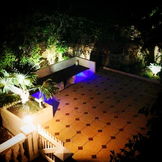 One Terrasse next to swimming pool