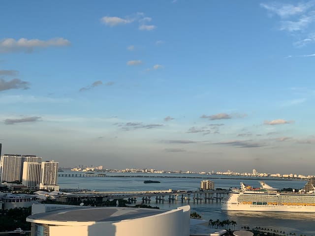 Miami's Luxury Ocean and City View