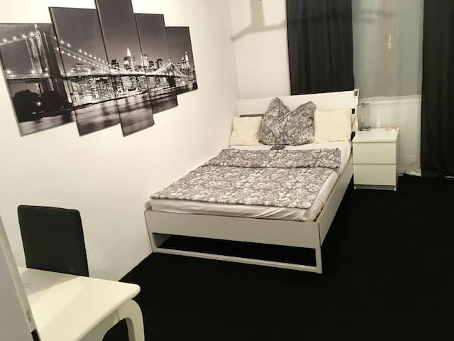 Gästezimmer in voll ausgestatteter Wohnung