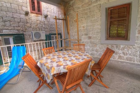 Charming 2 bedroom apt with seaview - Meljine - Apartment - 2