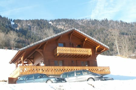 CHALET GRAND  CONFORT ALPES (74)  - BONNEVAUX - Alpstuga