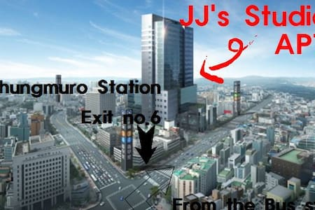 """JJ STUDIO in SEOUL #1 Myeongdong"