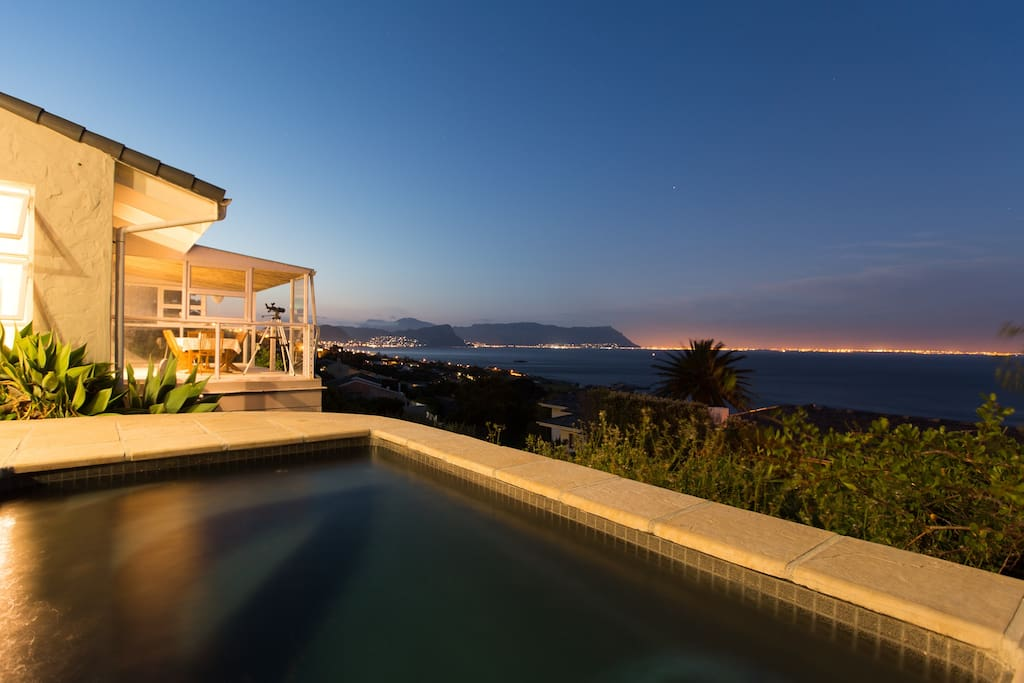 In the cool of the evening looking over False Bay
