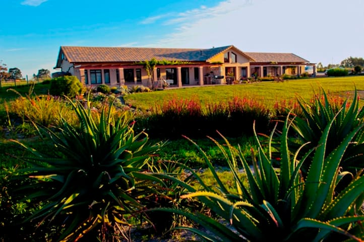 Rural setting, but close to all the GREAT places: Victoria Bay, Garden Route Mall, Airport