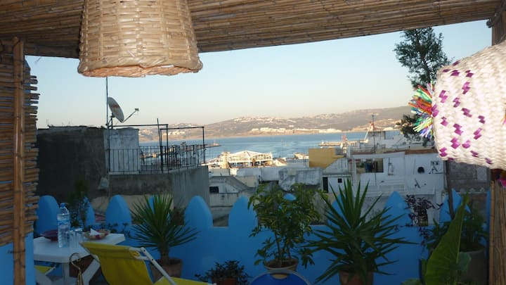 Lovely clean 3 bed house Kasbah, old town Tangiers