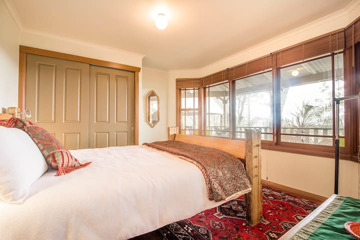 Tranquil Escape! Mt Chincogan room. - Myocum - Bed & Breakfast