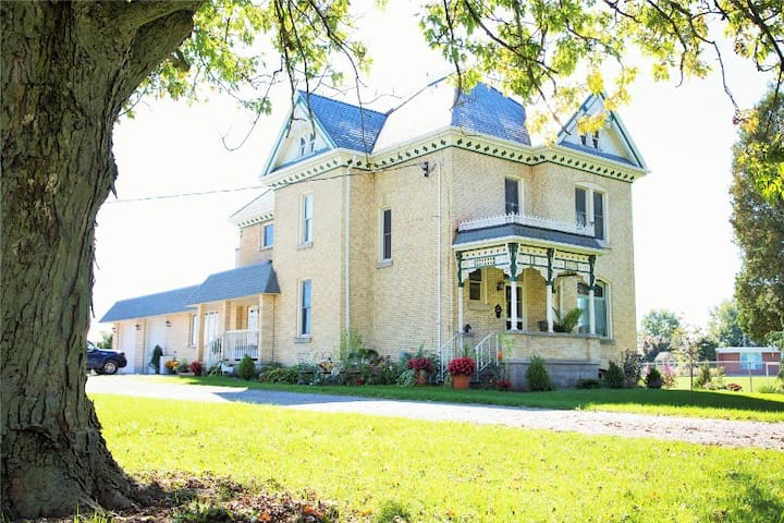 Caradoc Country B&B-The East Suite - Strathroy - Szoba reggelivel