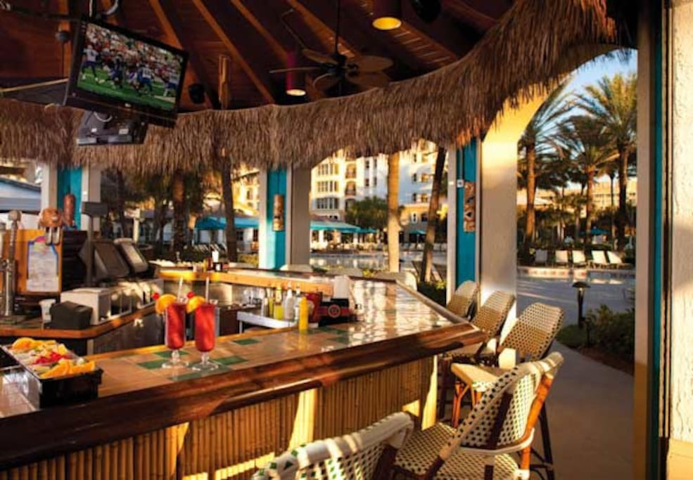 poolside bar and grill