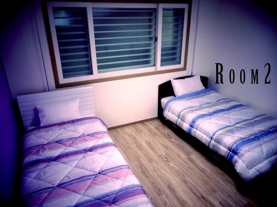 ツインルーム/twin room (two single bed)