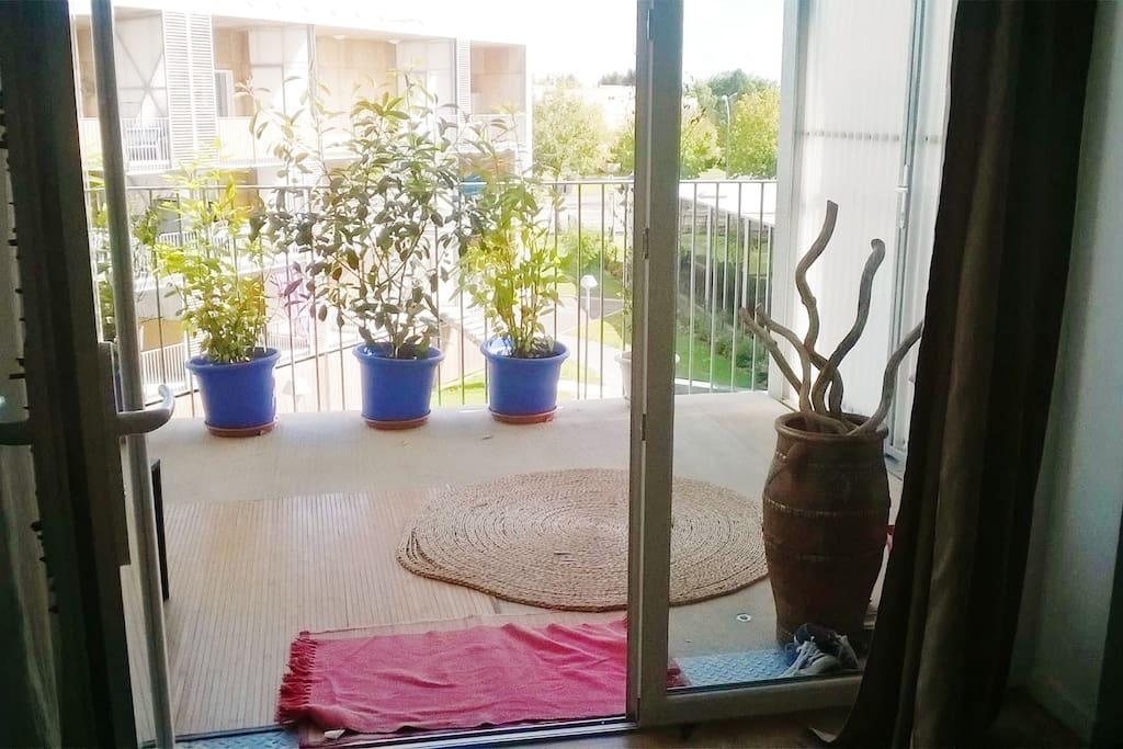 Une belle petite terrasse de 12 m2