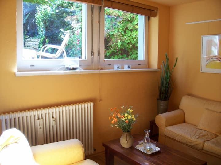 ruhiges Apartement mit Gartenflair