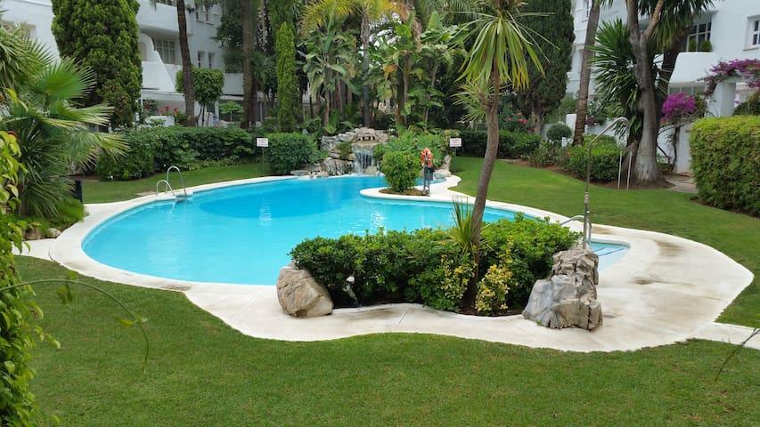 Apartment in Marbella Golden Mile. WIFI