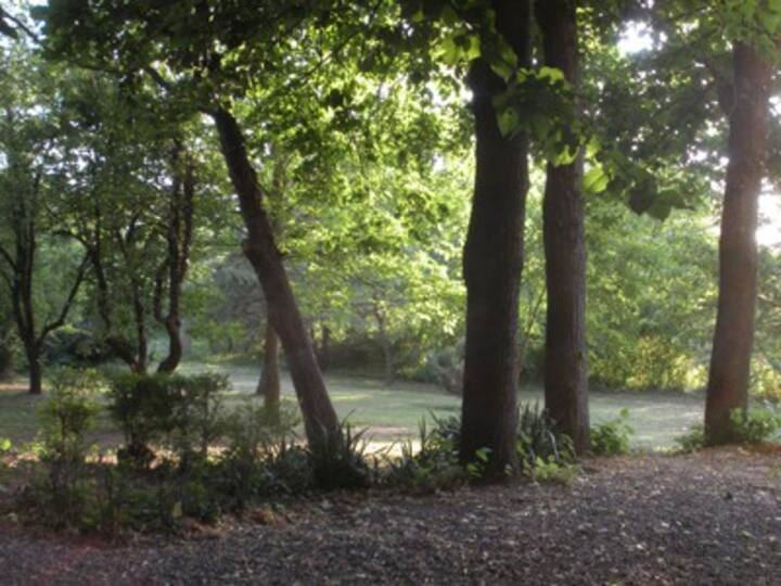 villetta in campagna con giardino