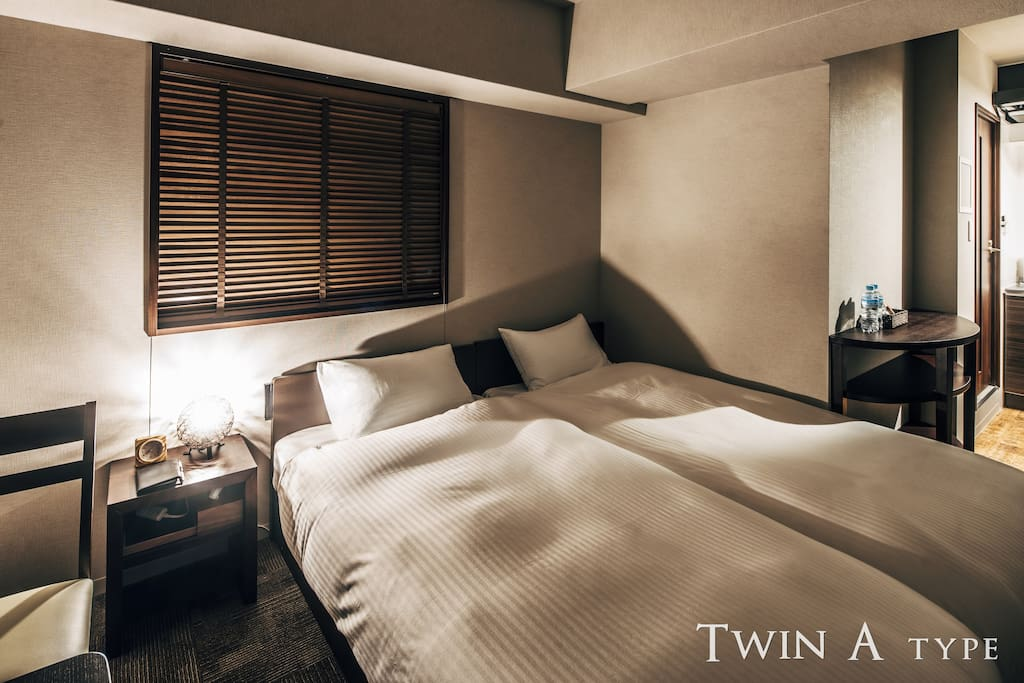 The best room for a couple or a pair.  夫婦やカップルのご旅行に最適なお部屋です。
