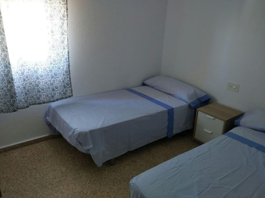 Habitacion 3: 2 camas de 90 nuevas