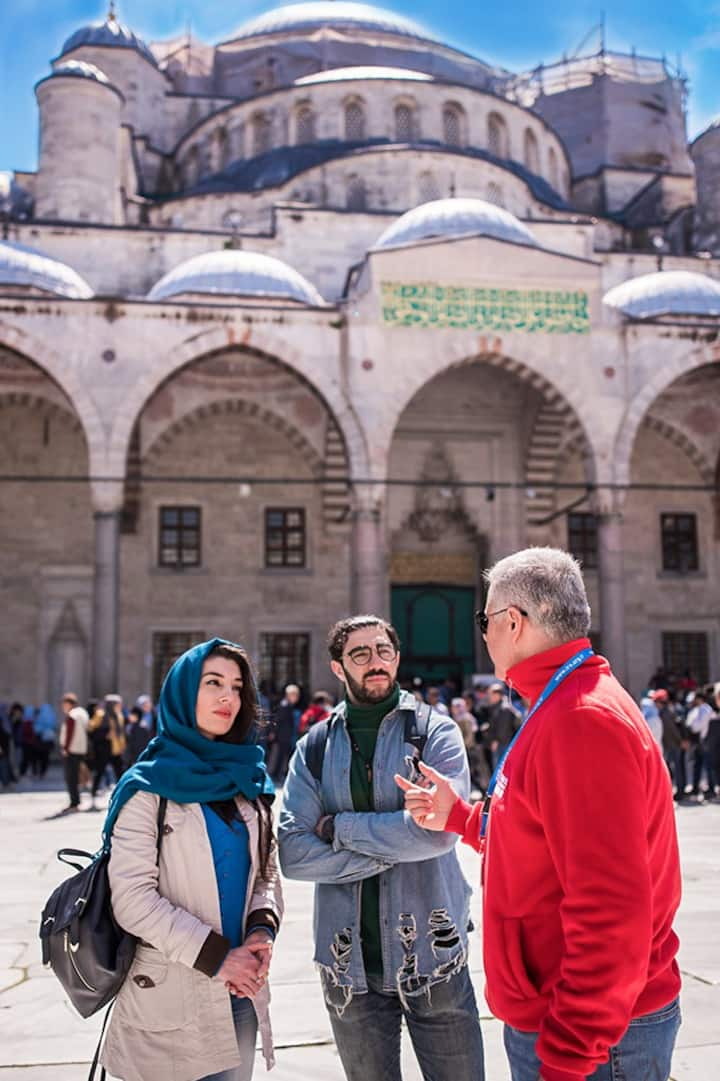 Courtyard of Blue Mosque