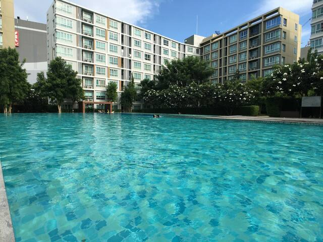 💛Central Festival Mall, Large Pool, Restaurants💛