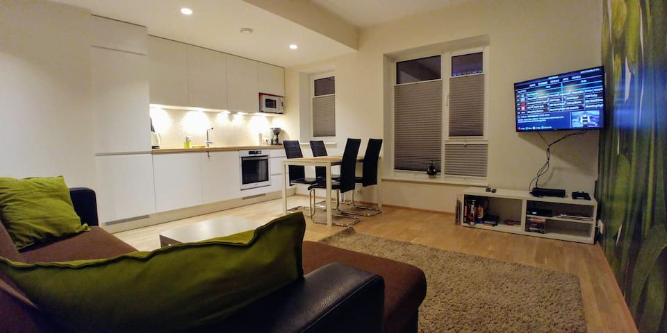 Brand new, 2 bdrm aprt, sleeps 6, free parking
