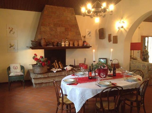 Podere Querceto, your corner of Tuscany. - Peccioli - 一軒家