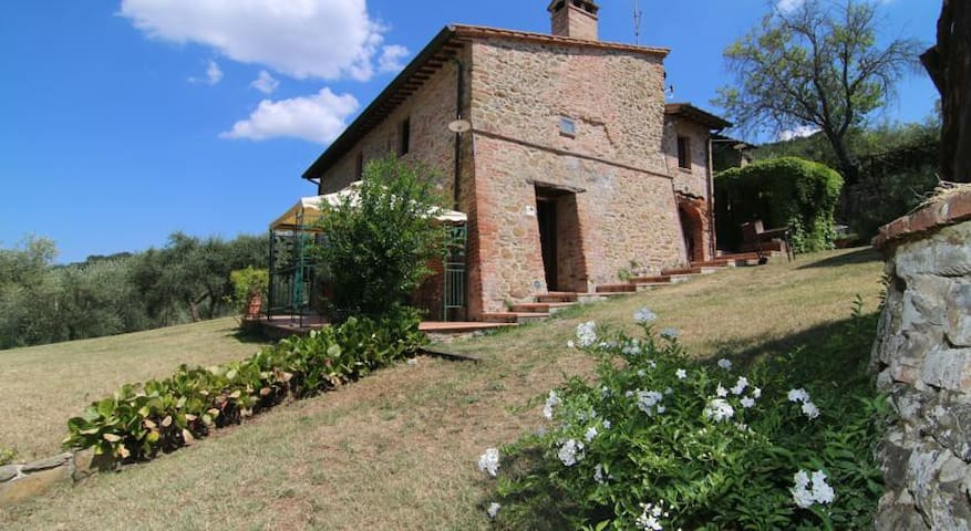 Charming and cozy apartment in Paciano - Paciano - Apartmen
