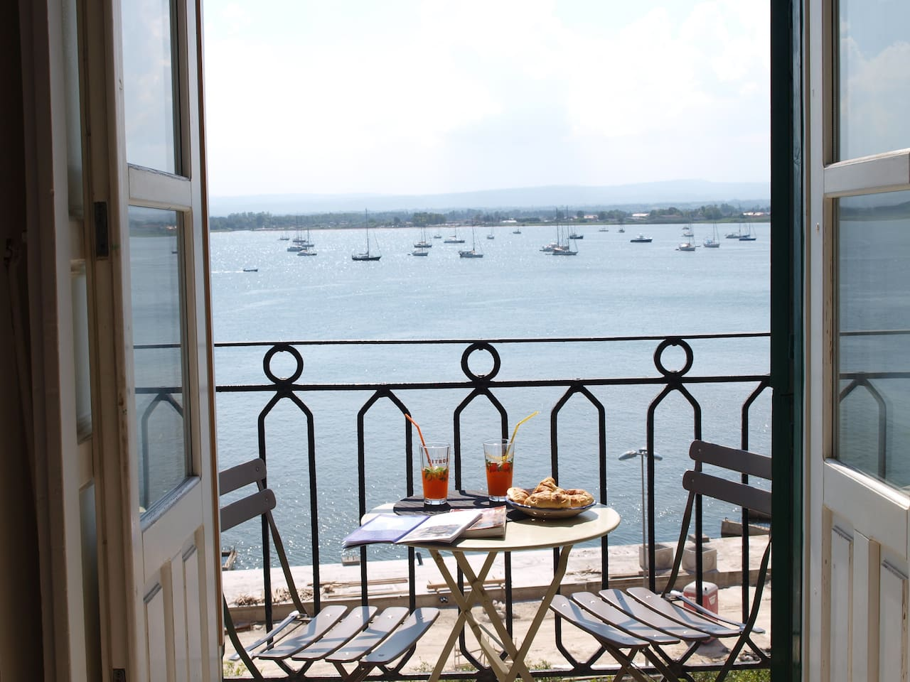 Enjoy this wonderful view from the balcony!