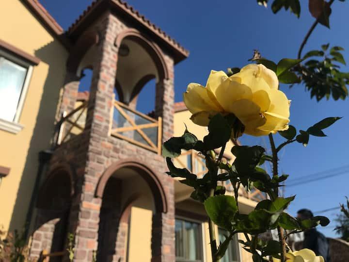 雕刻时光🎉 美式别墅 提供温馨早餐-自助烧烤-自家果园-旅游度假-休闲会友-聚会轰趴-农事体验