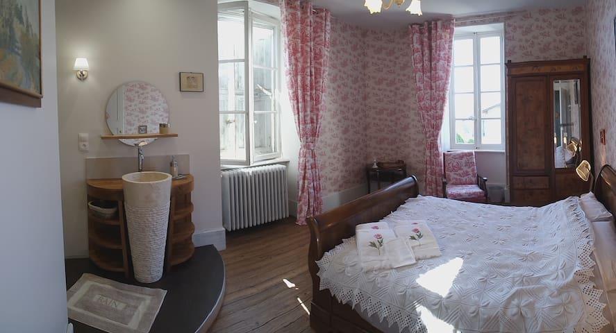 Chambres d'hôtes à la Villa Rhôna 1 - Andancette - Pensió