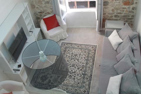 Beautiful Sunny Modern Apartment Old Town Antibes