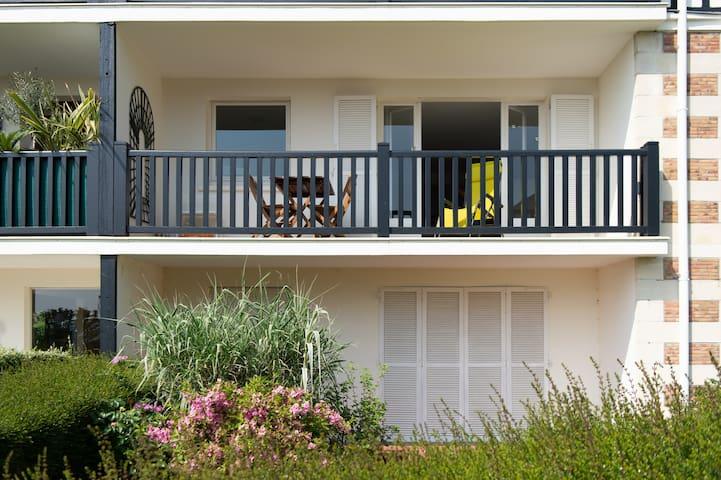 Une terrasse à Trouville
