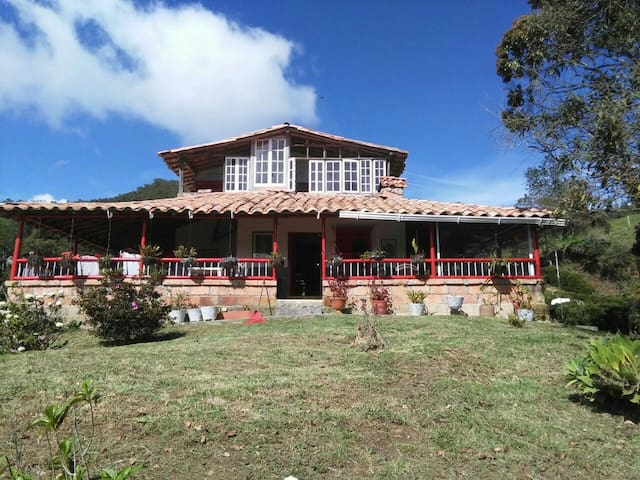 Casa Finca Alto de la Virgen - Guarne - House