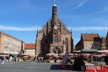 Nürnberg-Zentrum-Innenstadt-Messe