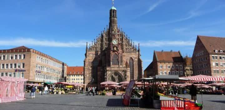 Nürnberg-Zentrum+Messe (none additional fee)