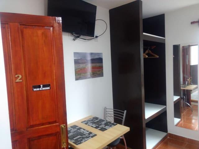 Acogedora y luminosa, habitación N° 2