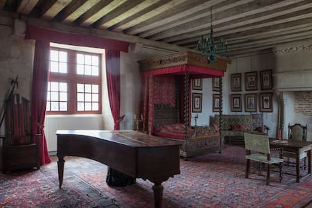 La chambre au baldaquin - Chémery