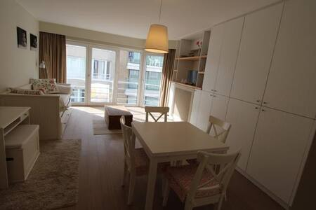 Cosy chic one bedroom in Zoute -  Seaview!! - Knokke-Heist - Apartamento
