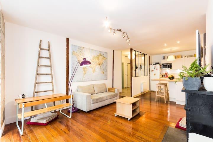 Belle chambre en hyper centre ! - Grenoble - Apartmen