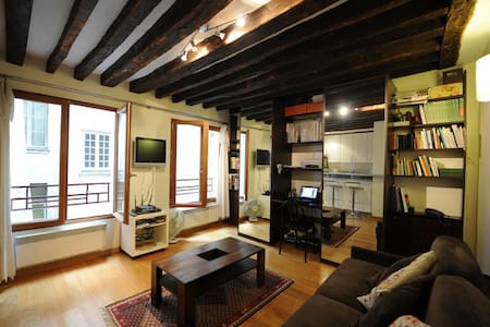 Explore the heart of old Paris - Paris - Apartment