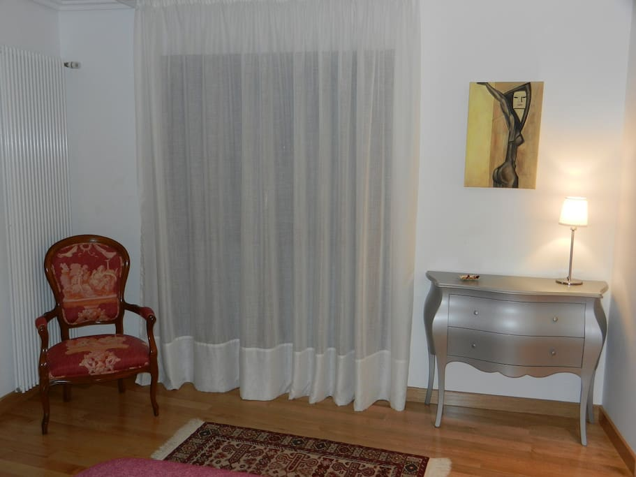 Interior de la habitación