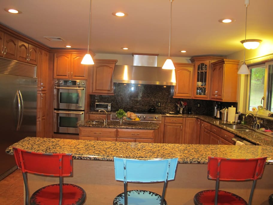 Another View of the Chef's Kitchen