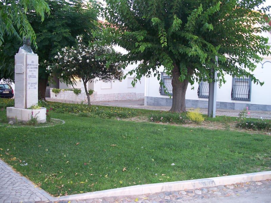 Jardim exterior