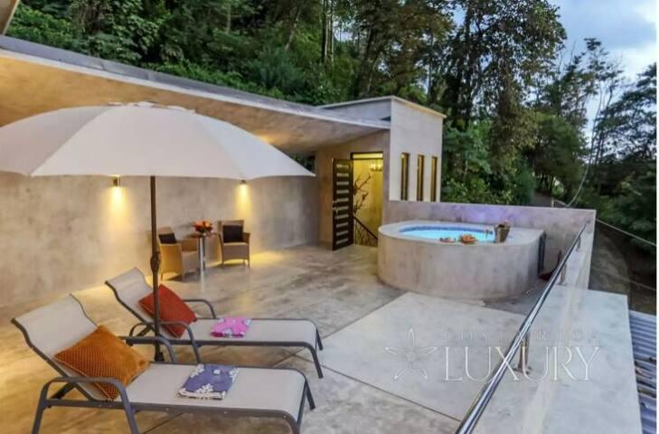 terrasse privée pour cette suite