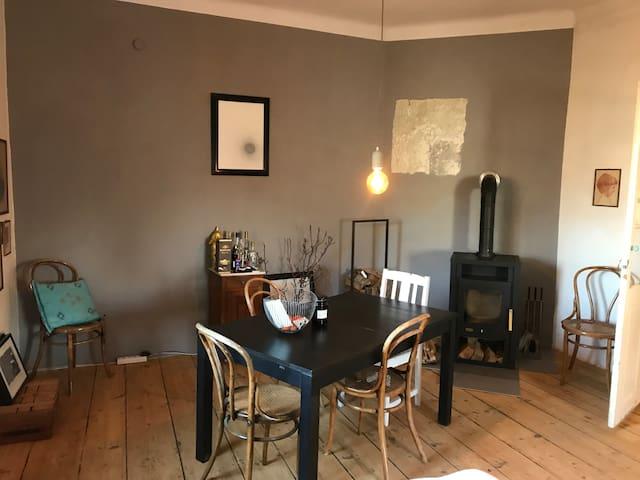 quiet apartment with garden view
