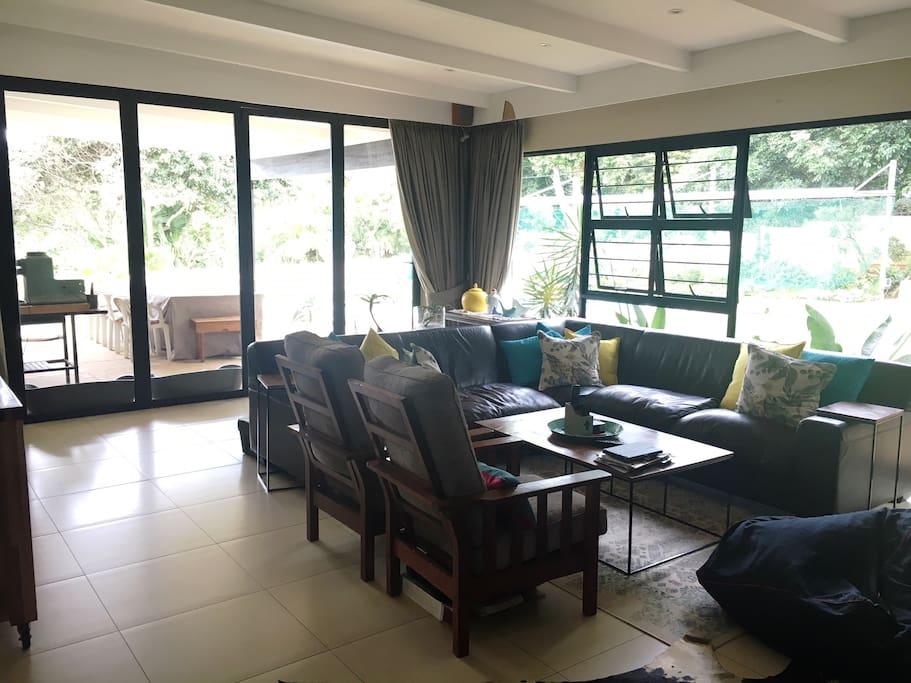 TV Lounge and veranda