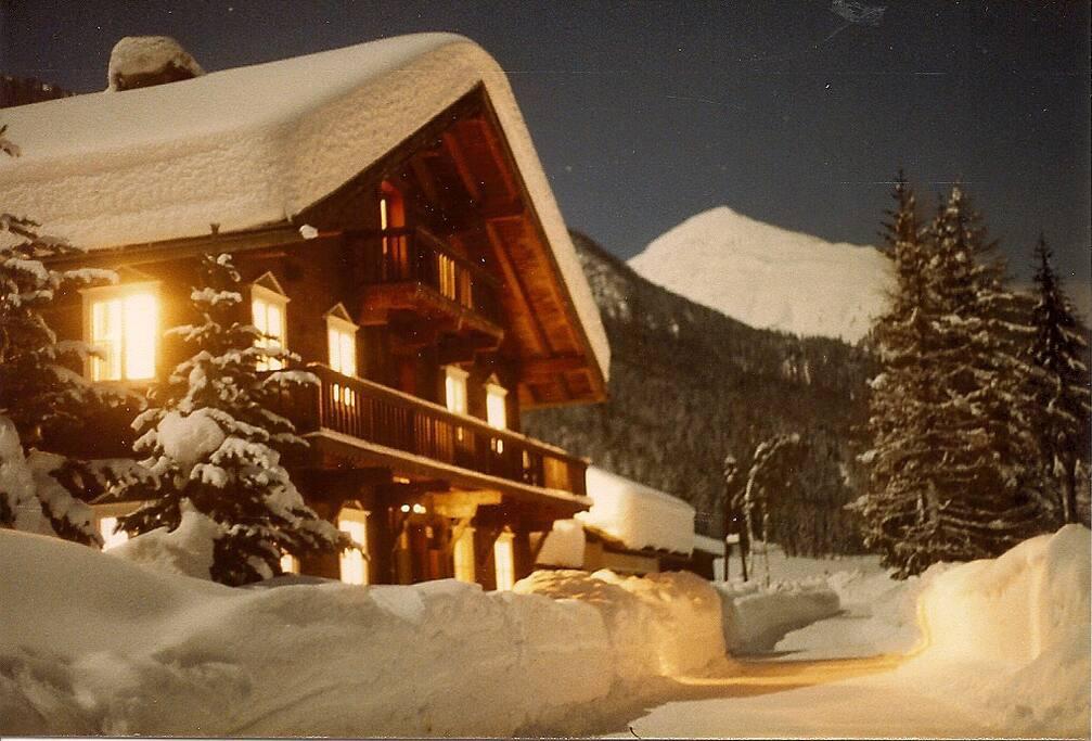 Winter im Haus Even