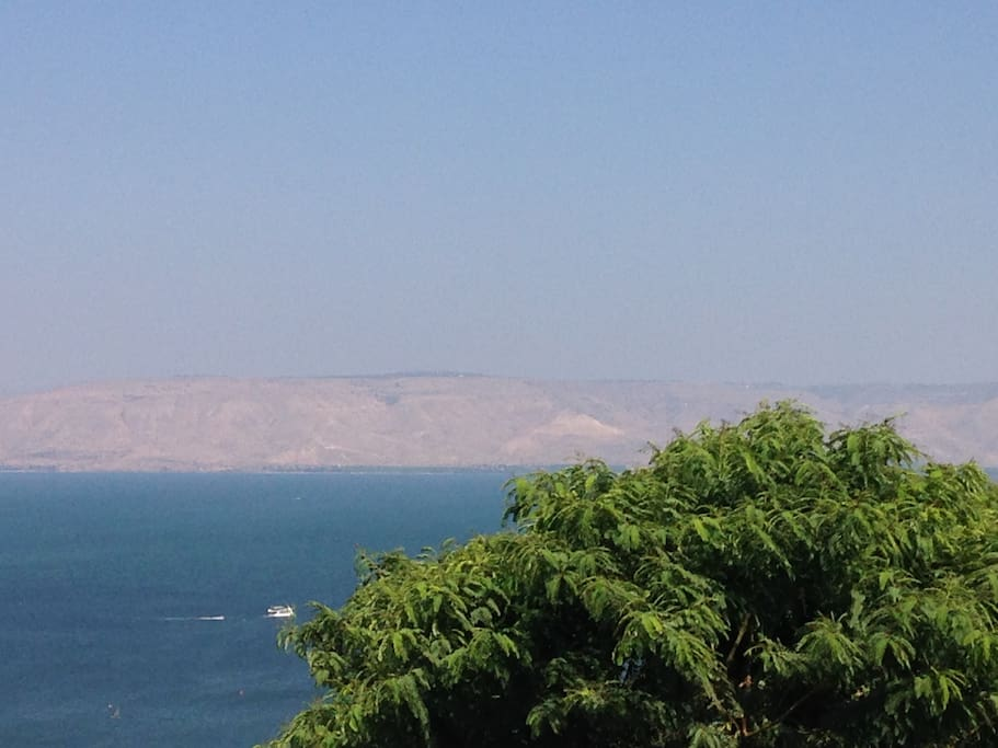 Panoramic View Relaxation - Sea of Galilee luxury apartment  - this is the view from anywhere at the apartment and 2 balconies ... A total inspiration.